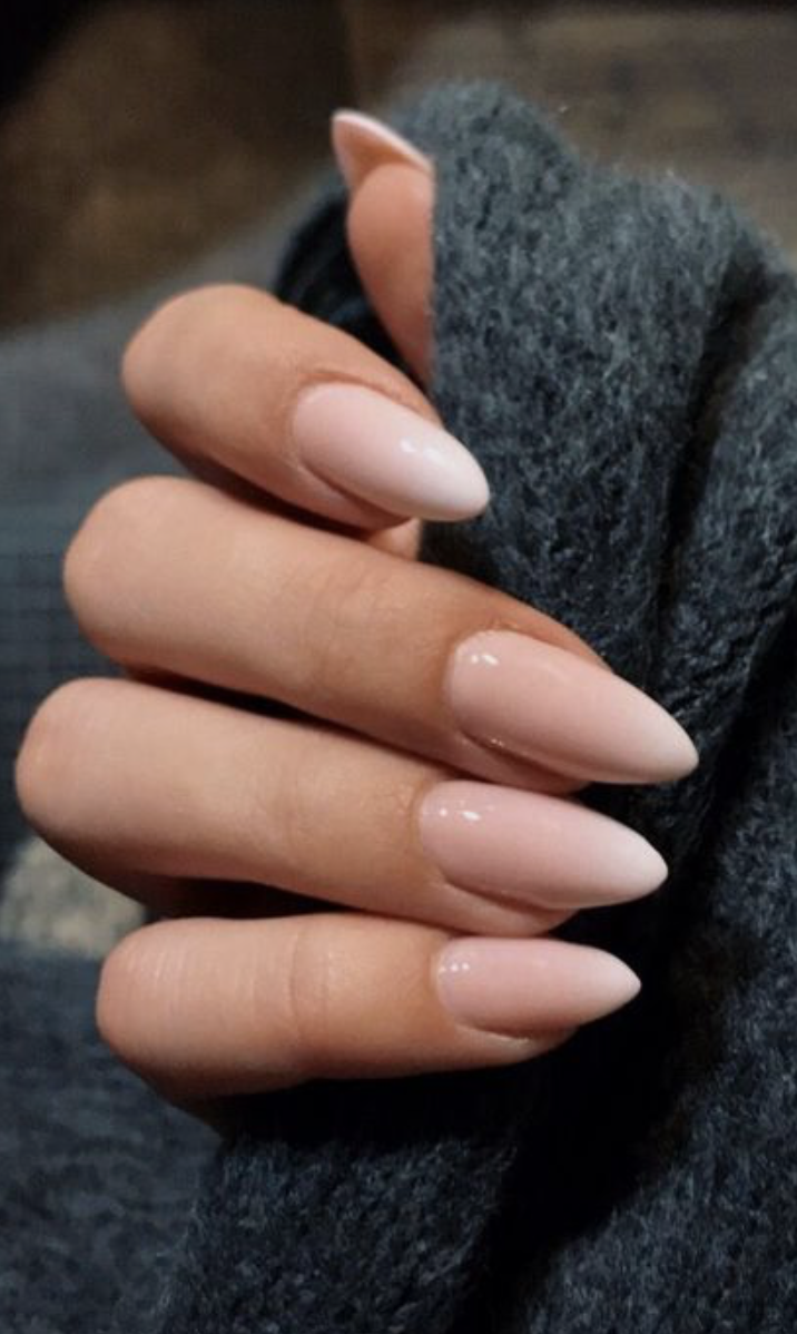 Baby Pink And White Ombre Nails Pointy Nail Art Ideas Kylie Jenner Nails Franzosische Manikure Nagelideen Nagel Machen Lassen