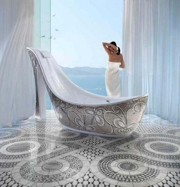 Superieur Shoe Bathtub Designed By Massimiliano Della Monaca, A Designer From Italy,  The Piece