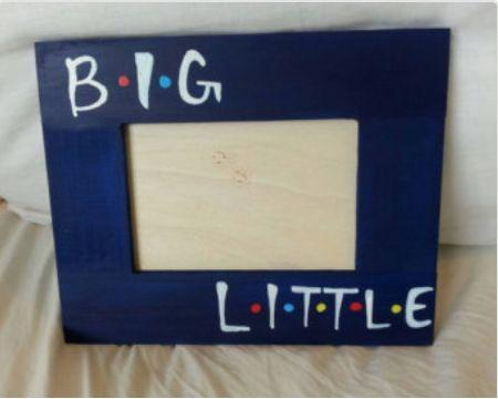 Big little friends frame | Phi Sigma Rho Love | Pinterest | Sorority