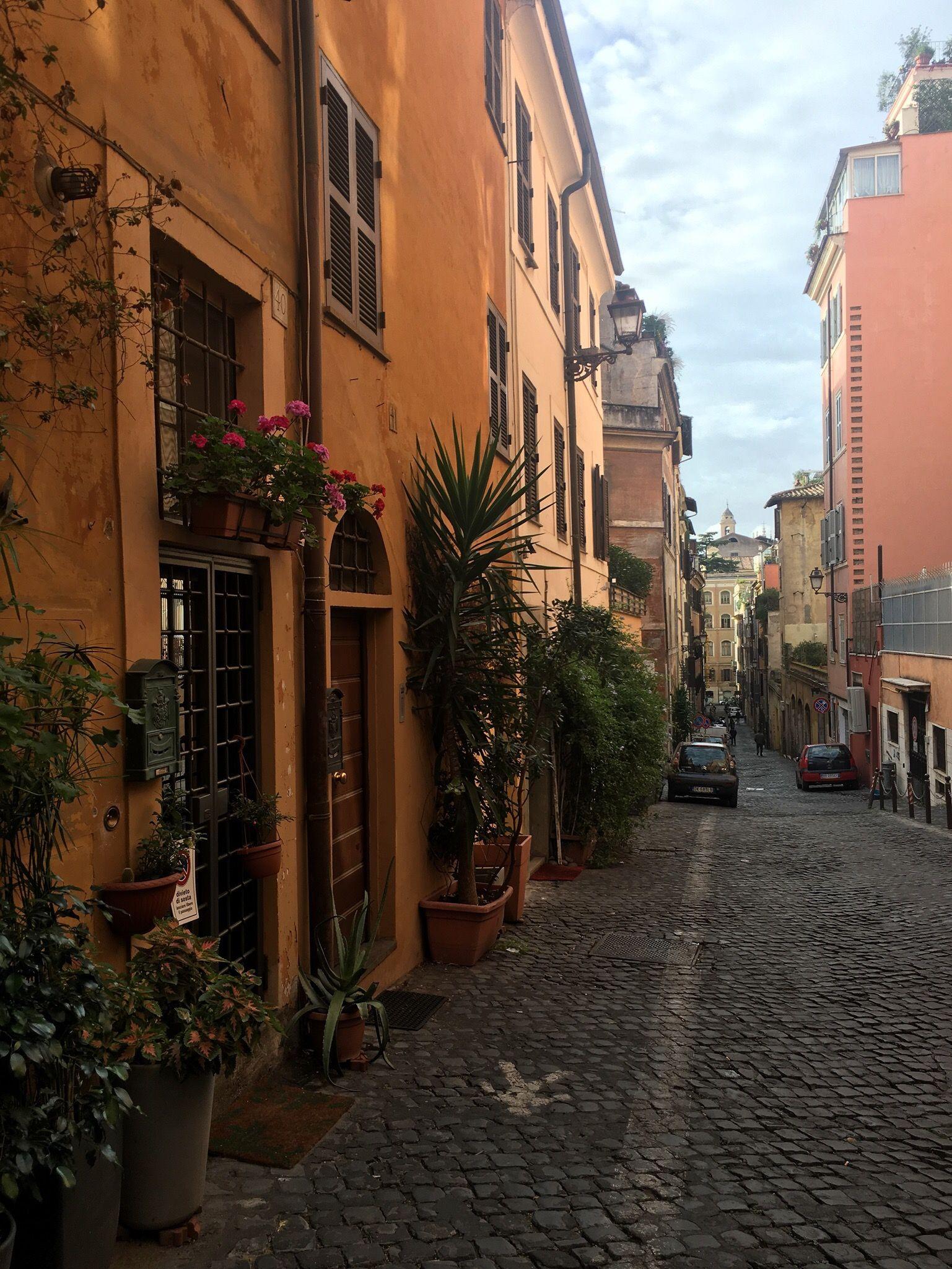 Une rue de Rome quartier Monti
