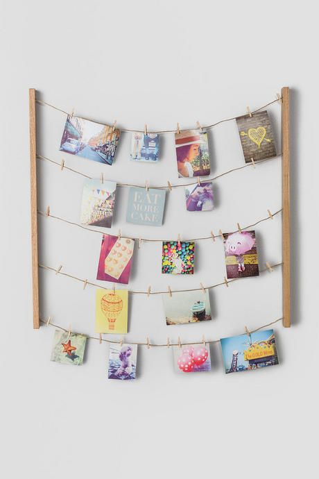 Display photos cards ideas and more with the hang it photo display