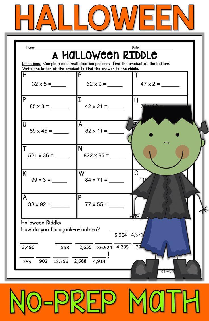Halloween Math Worksheets Halloween Math Worksheets Halloween Math Activities Math Worksheets