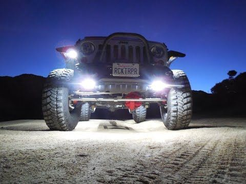 Jeep Wrangler Jk 2007 To Present How To Install Rock Lights Jk