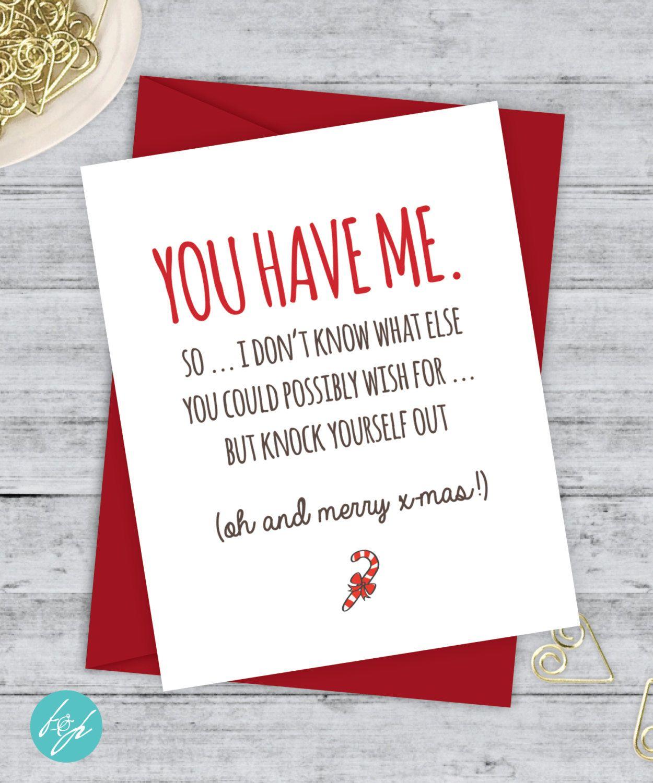 Boyfriend card funny christmas card christmas card xmas card quirky boyfriend card funny christmas card christmas card xmas card quirky snarky greeting card just for m4hsunfo