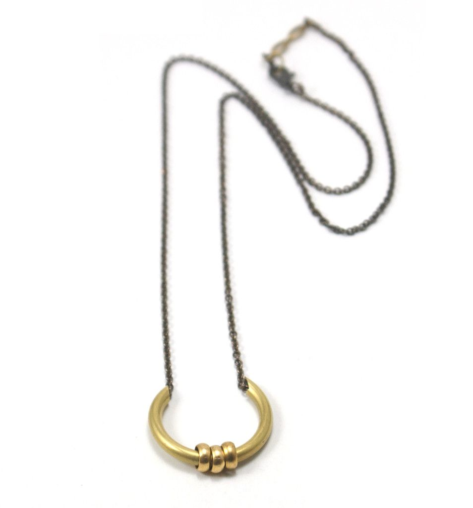 Small Harp Necklace