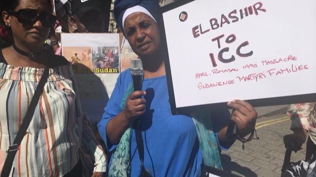 تقرير المظاهرة الكبرى التي نظمتها منظمات المجتمع المدني، إتحاد  دارفور بالمملكة المتحدة، منظمتي وجين بيس وهارت بلندن، السبت٣٠ يونيو ٢٠١٨