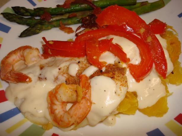 Alfredo Shrimp Tilapia Recipe Beautiful Shrimp