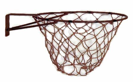 Antique Basketball Rim With Net Very Rare And Impressive 1910 20 S Basketball Rim Complete With The Origina Basketball Rim Basketball Equipment Vintage Sports