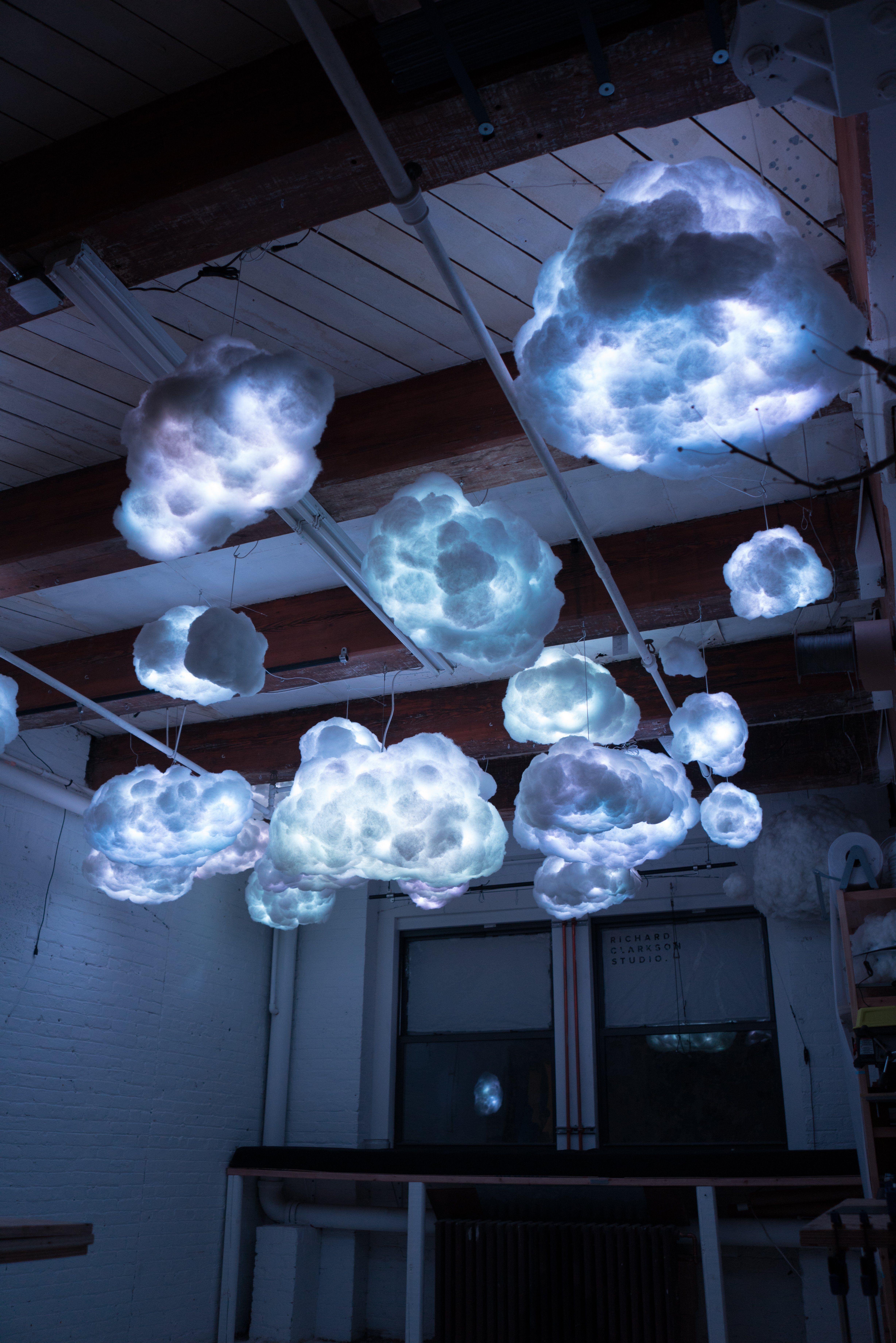 RGB Cloud Lamp in 2020 Cloud lamp diy, Cloud lamp, Cloud