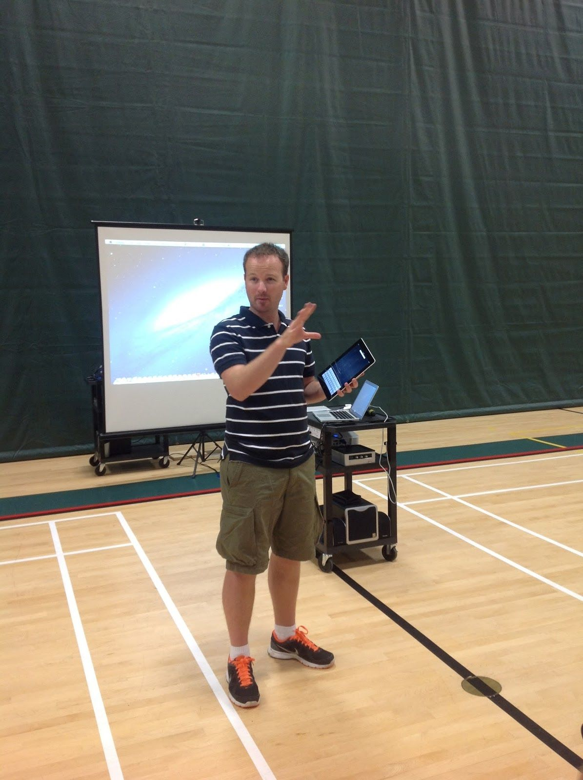 Using An Ipad In The Phys Ed Classroom