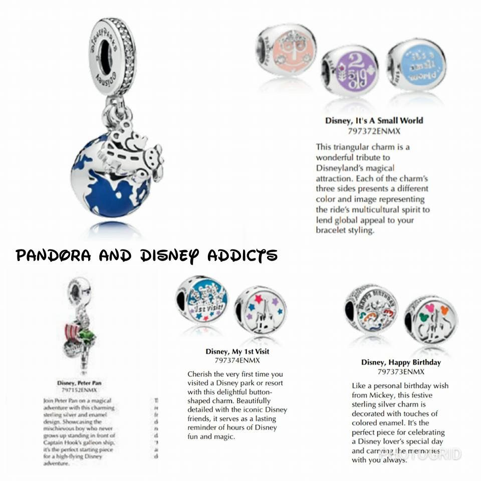 disney pandora charm small world