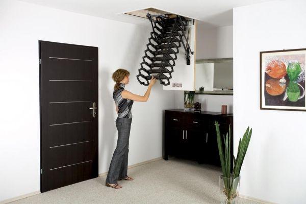 Fakro Lst Scissor Attic Ladder Fakro Attic Ladders