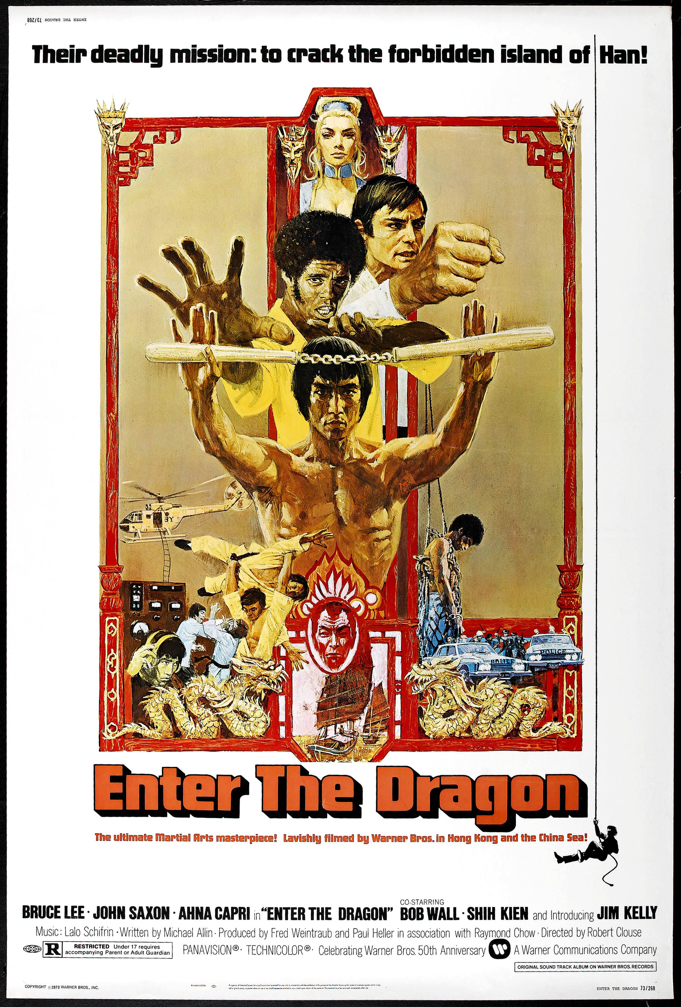 Enter The Dragon 1973 Peliculas De Bruce Lee