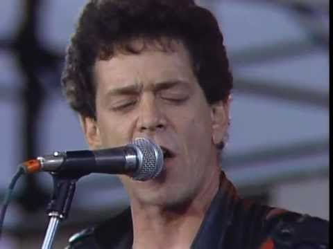 Lou Reed A Walk On The Wild Side Live At Farm Aid 1985 Youtube
