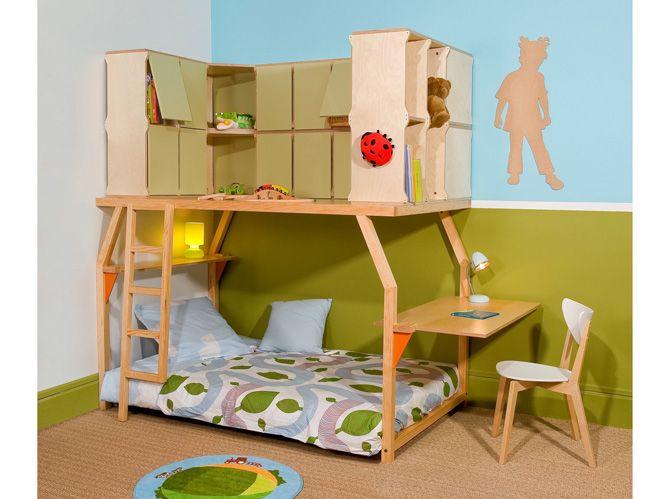 Tendance: le lit mezzanine | Mezzanine, Mezzanine bed and Lit ...