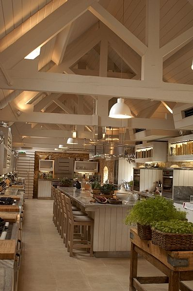 Beautiful Country Style Kitchen in a renovated Barn. I would never ...