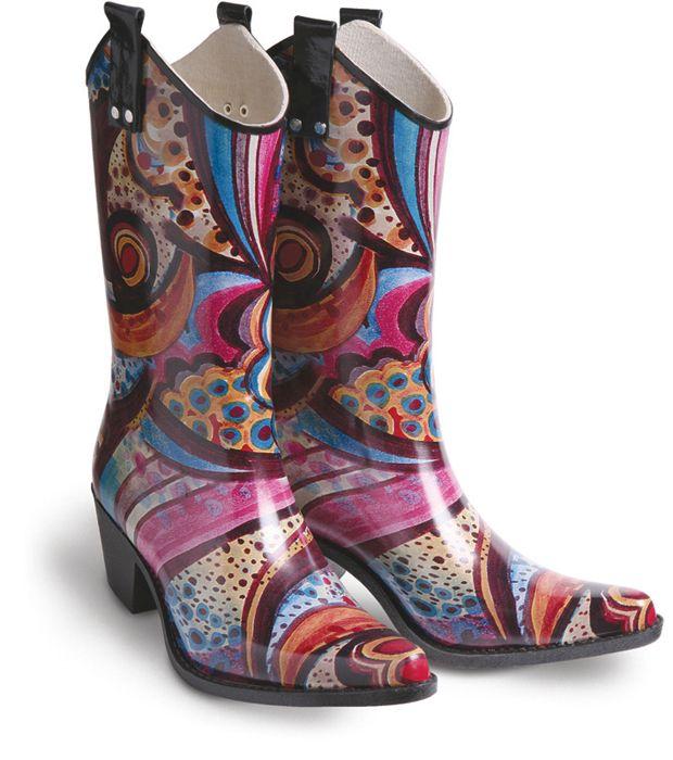 Cowboy Rain Boots | Let it Rain! | Pinterest | Seasons, Rain boots ...