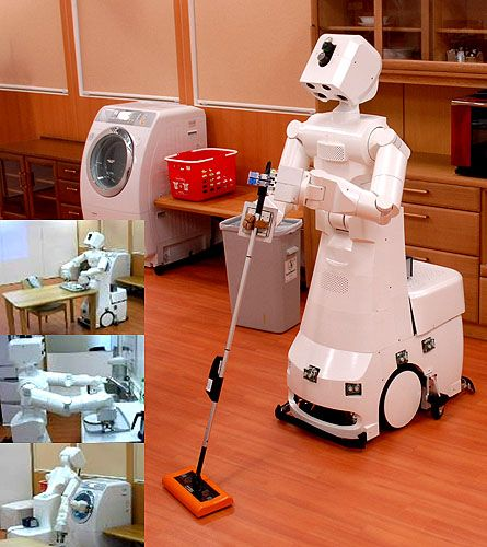 Rosie The Robot Maid, Made By Toyota | Domestic robots, Household robots,  Robot