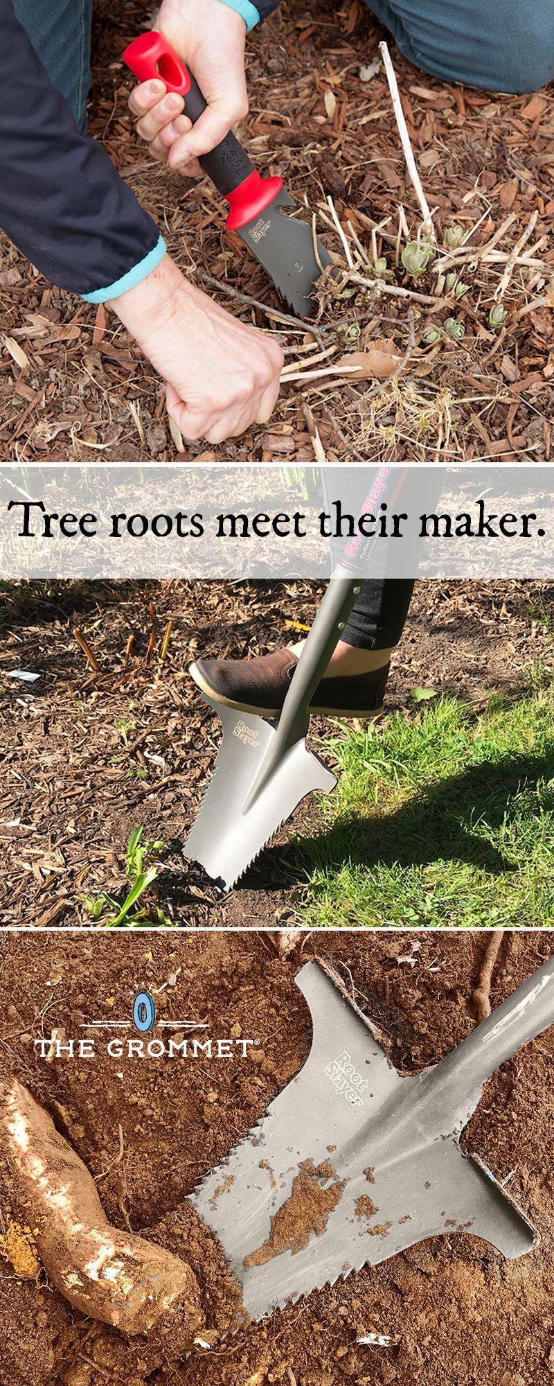 Radius Garden Root Slayer Carbon Steel Shovel