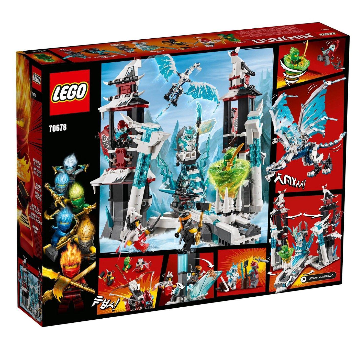 Lego 70675 70674 70673 70676 70677 70678 Ninjago Forbidden Spinjitzu flags