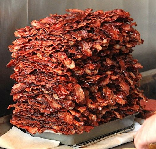 no such thing as too much bacon