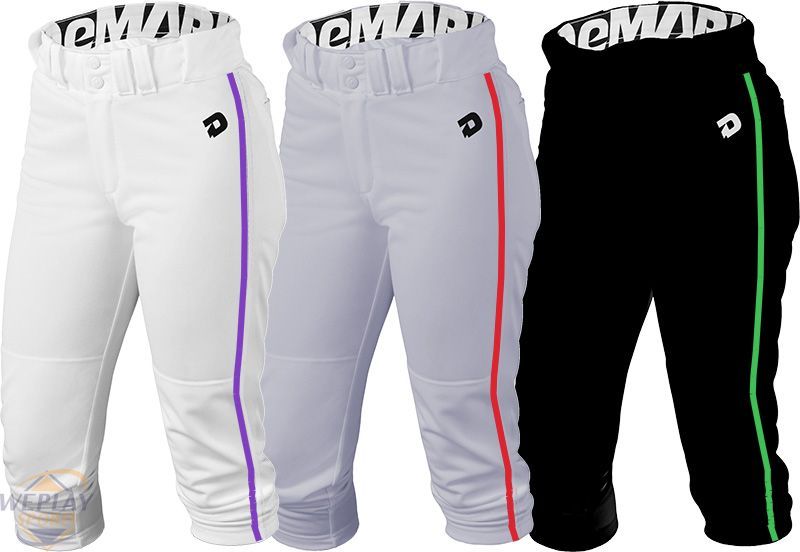 Demarini 174 Deluxe Womens Fastpitch Softball Pants W Piping