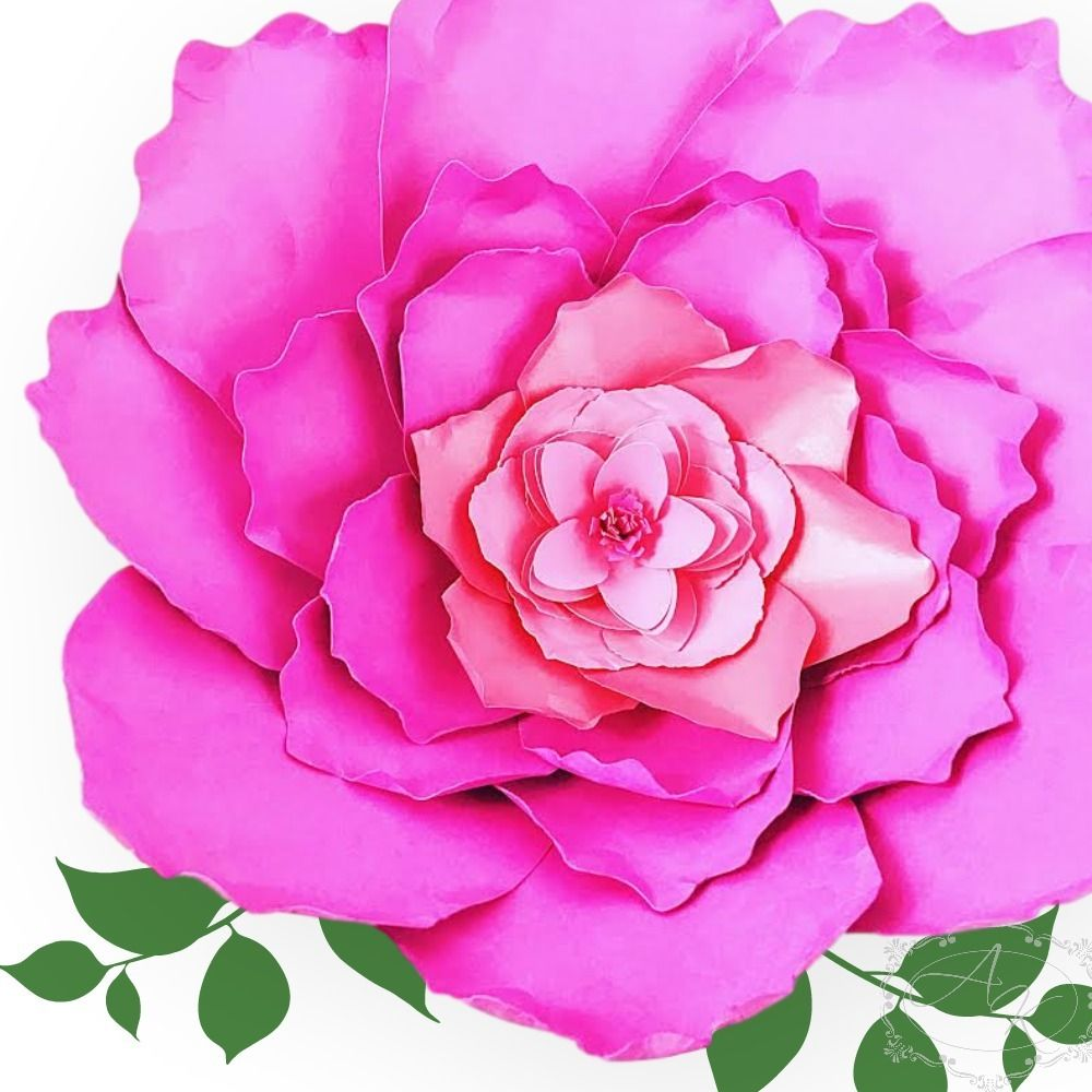 Big Paper Peony Flower Giant Large Handmade Alternative Quotes Of