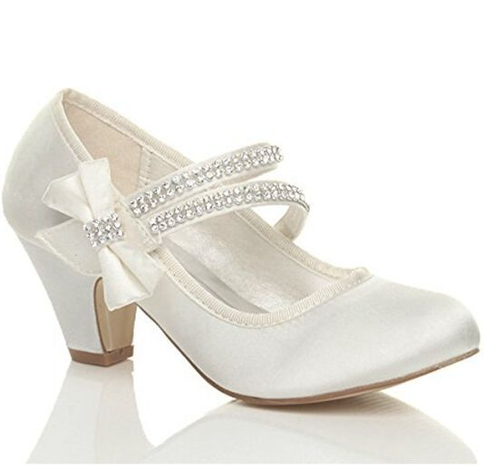 IS9YW5GE Women Ivory Bridal 4098 Satin High Heel Peep toe Prom Party Dance Wedding shoes Wommen Pumps In Short Supply