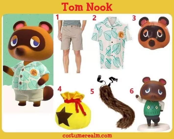 Animal Crossing Tom Nook Costume Guide in 2020 Animal