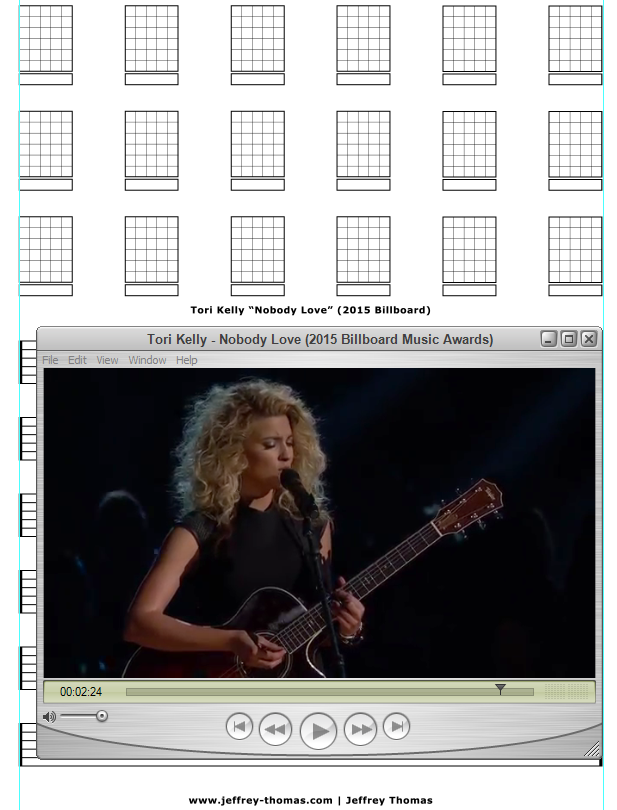 On The Workbench Nobody Love By Tori Kelly Starting The Guitar