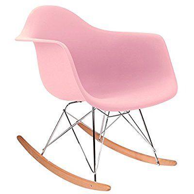 Promo 1 Rocking Chair Chaise Design Inspiration Fauteuil Bascule RAR Pieds En Bois Clair Assise