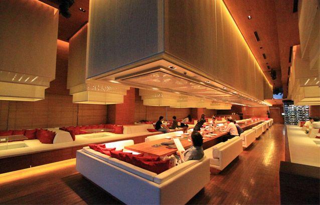 Longtable Bangkok Bar Thailand Restaurant Ideas Design Nightclub