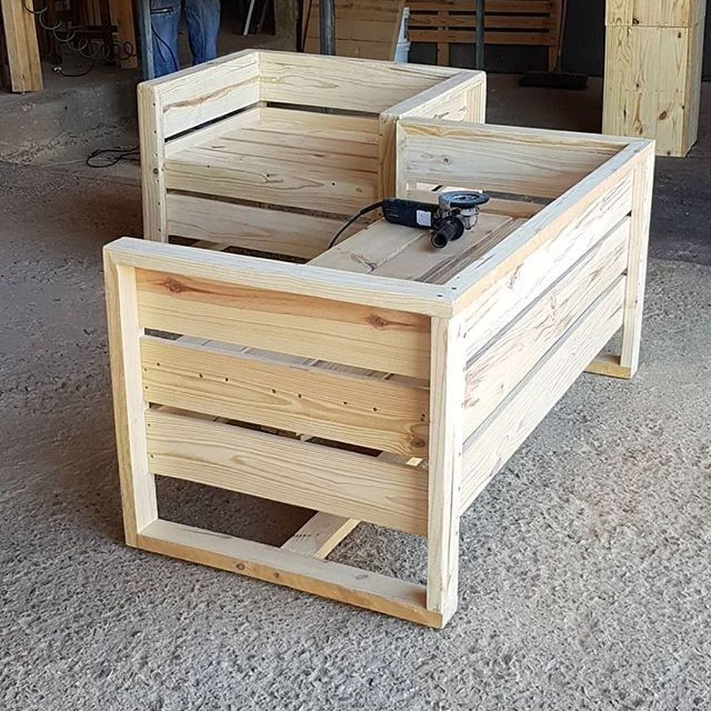 44 Luxurious Diy Pallets Ideas For Your Home Furniture is part of Pallet diy - If you've ever been to the hardware store to buy some bits of timber for making a coffee table or […]