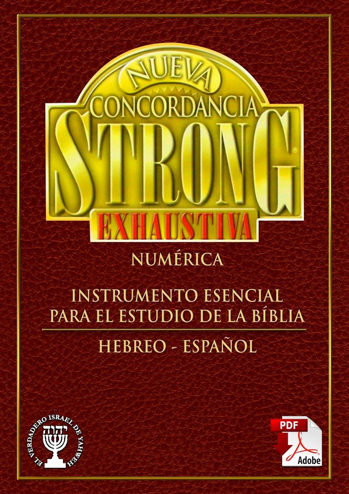 Concordancia Diccionario Strong Hebreo Espanol Puedes Contar Las
