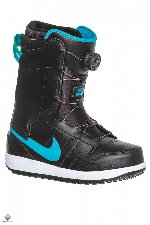 Buty Snowboardowe Damskie Nike Vapen X Boa Black 586539 041