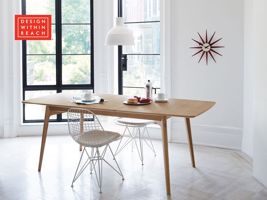 Dulwich Extension Table Modern Dining Room Set Modern Dining