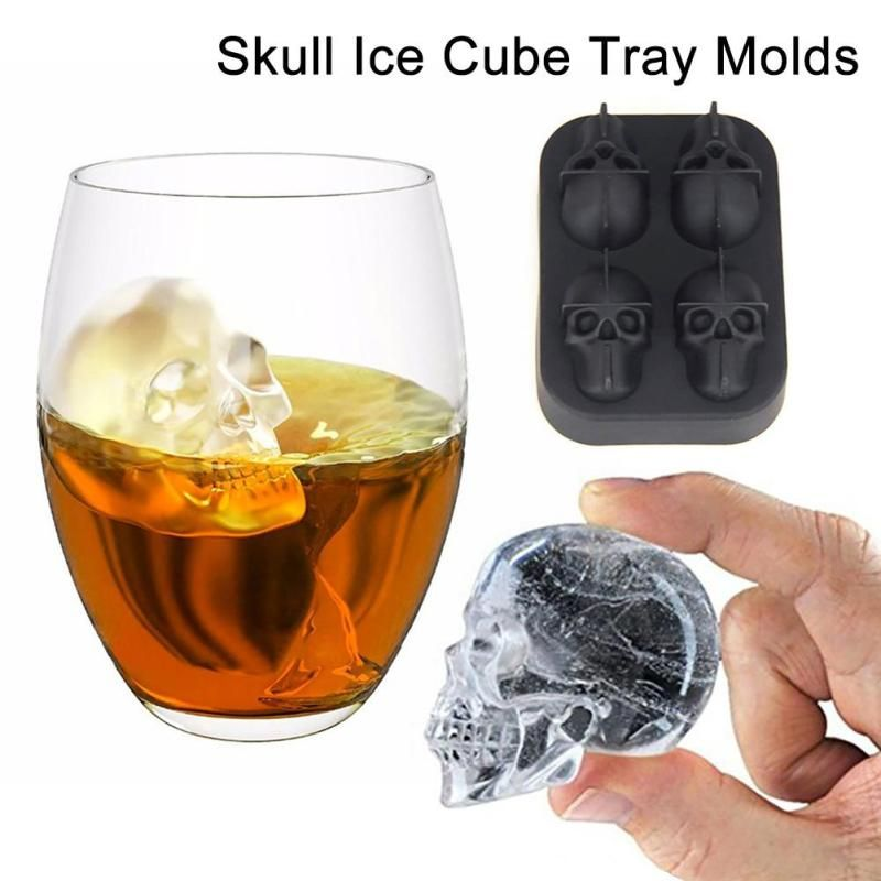 Perfect Like And Share If You Want This Silicone Bones Skull Ice Cube Mold Kitchen  Chocolate Tray Tag A Friend Who Would Love This! FREE Shipping Worldwide  Get It ...