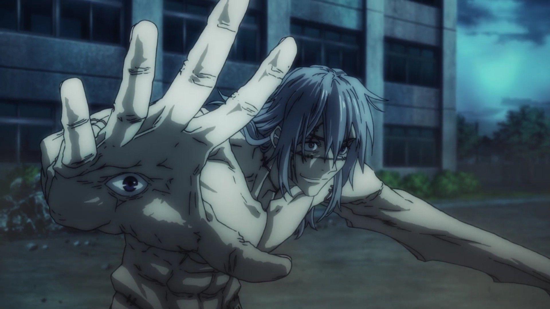Mahito Jujutsu Kaisen Jujutsu Anime Animation