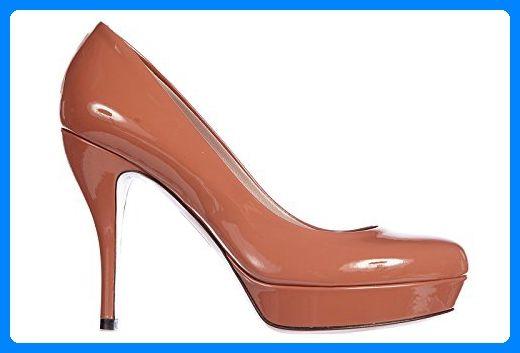 596c49b51b4633 Gucci Damenschuhe Leder Pumps mit Absatz High Heels crystall Lack Braun EU  41 309999 BNC00 9822 - Damen pumps ( Partner-Link)