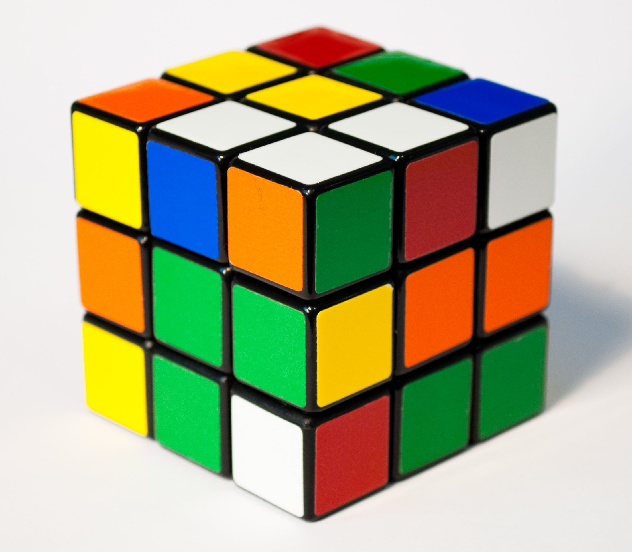 Elegant I Have Fond Memories Of Playing With A Rubiku0027s Cube When I Was A Kid.  Thankfully, I Also Have The Book Of Instructions, Inside The Back Cover Of  Which My ... Photo