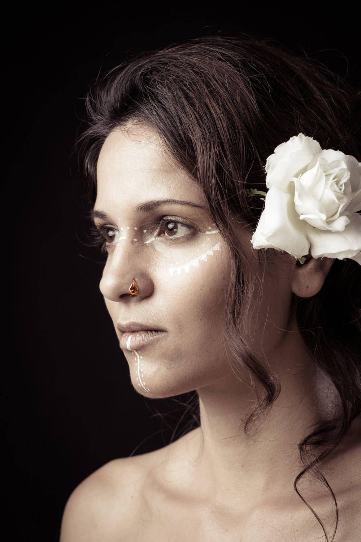 Nose piercing near me  Geometric gold nose ring gold nose hoop tribal nose ring indian