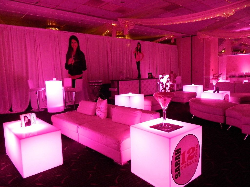 Incredible Lounge Area Set Up In The Marquis Room For A Gorgeous Bat Mitzvah At Grand