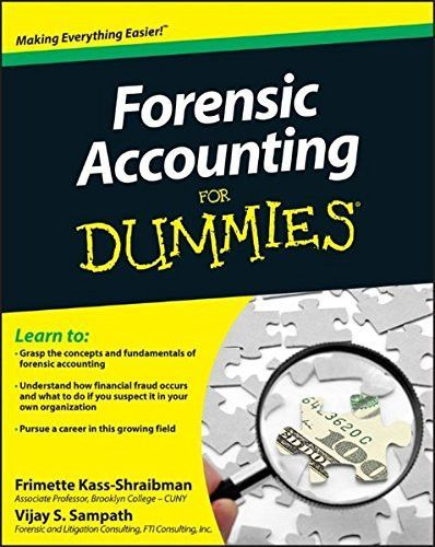 Forensic Accounting For Dummies Forensic accounting, Forensics and - Forensic Report