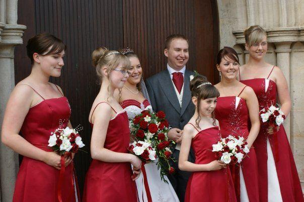 Claret Bridesmaid Dresses