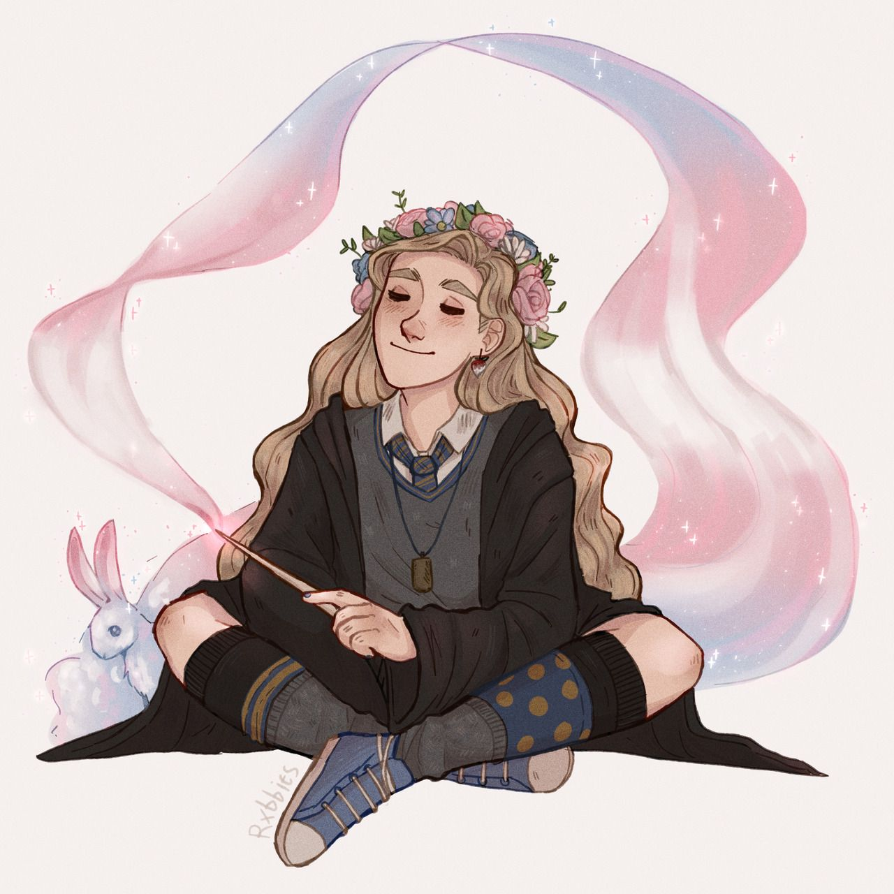 Rxbbits Hand Slips Whoopsie I Guess She S Trans Art By Myrkky Harry Potter Artwork Harry Potter Fan Art Harry Potter Drawings