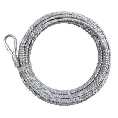 Home Depot Everbilt 1 4 In X 100 Ft Galvanized Wire Rope 13140 At The Home Depot 36 98 For Hanging Canopy Patio Furniture Home Hardware Furniture