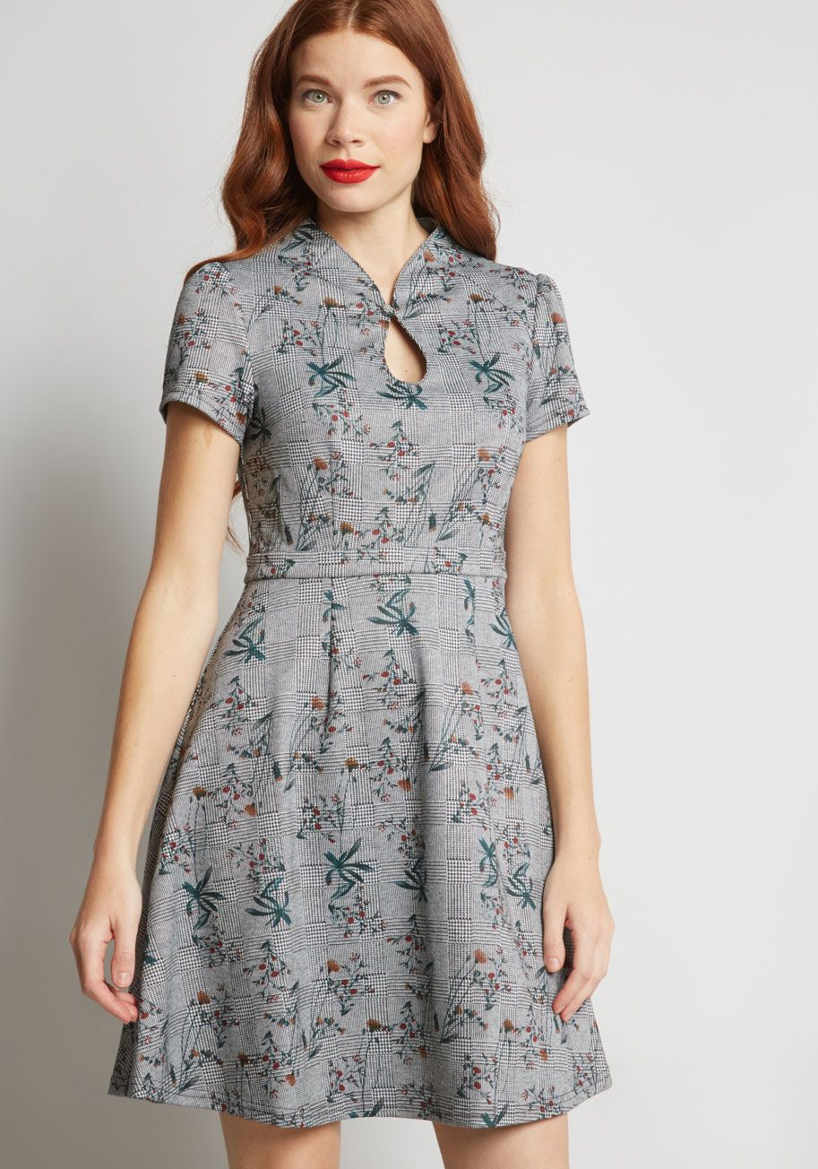 High Society Style Short Sleeve Dress in clothes Pinterest