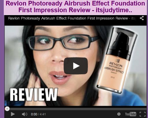 Revlon Photoready Airbrush Effect Foundation First