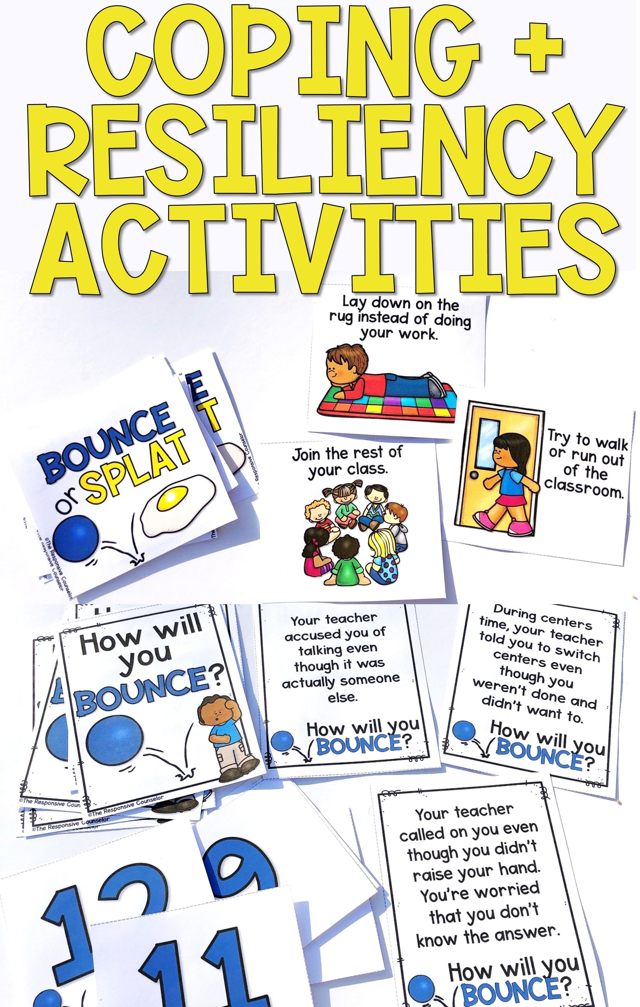 Resiliency Activities For Coping And Self Regulation
