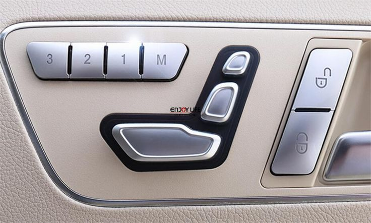 Nice mercedes 12pcs abs seat memory lock unlock switch